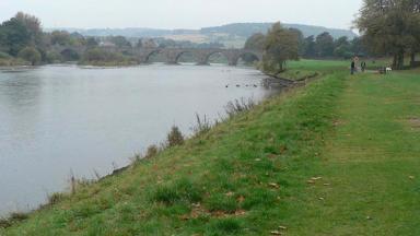 River Dee in Aberdeen stock/generic image