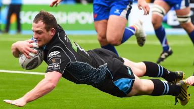 Nick Grigg, Glasgow Warriors, March 2017