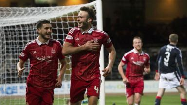 Watch Andrew Considine hit a hat-trick as Dons win 7-0