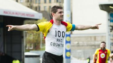 Watch Kris Doolan hit 101 goals for Partick Thistle