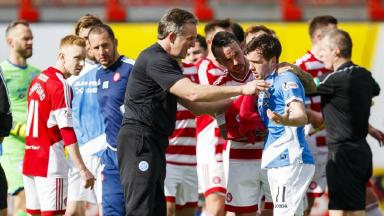 See St Johnstone team-mates Swanson and Foster brawl