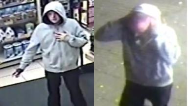 cctv image Drumchapel robbery suspect