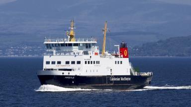 CalMac's MV Argyle.
