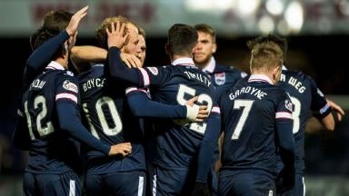 Watch the late drama between Ross County and Dundee