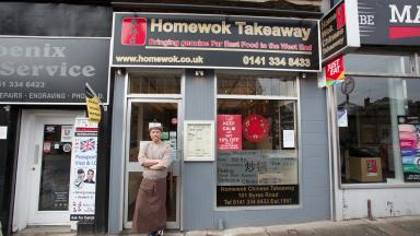 Home Wok - Glasgow, third place UK most loved takeaway 2017 hungry house uploaded with permission Friday April 7 2017