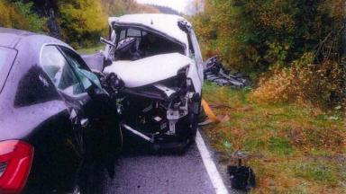Maserati crash on Isle of Mull involving Thomas Wainwright who killed Theresa Wade