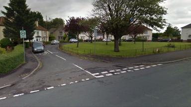 Danes Crescent, Glasgow. Pensioner was robbed at knifepoint by man in 'Spiderman' mask.