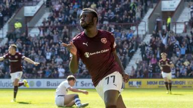 Hearts 1-0 Dundee highlights