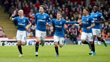 Aberdeen 0-3 Rangers highlights