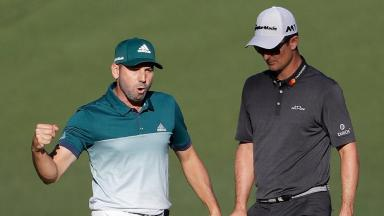 Masters 2017: Sergio García beats Justin Rose in play-off