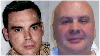 Darren Adie and murderer Gordon Coventry