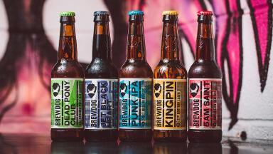 BrewDog beer stock/generic image