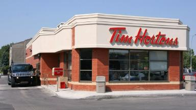 Tim Hortons in Canada. Wikimedia Commons