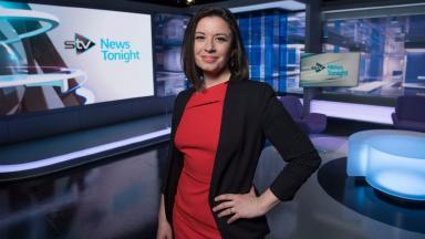 Halla Mohieddeen on the STV News Tonight set for STV2 launch