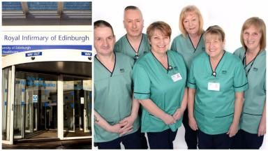 Domestic cleaning staff at Edinburgh Royal Infirmary are brought in-house.