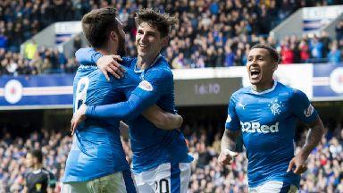Scottish Premiership highlights: Rangers 2-0 Partick Thistle