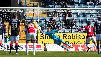 Scottish Premiership highlights: Dundee 0-2 Hamilton