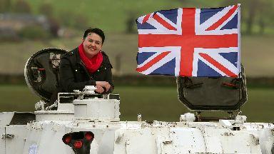 Ruth Davidson tank