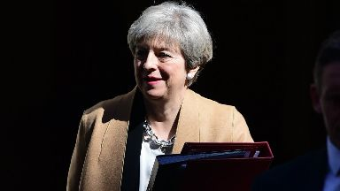 Theresa May: The Prime Minister previously said she would not call an early election.