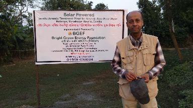 Professor Bhaskar Sen Gupta, from Heriot-Watt University