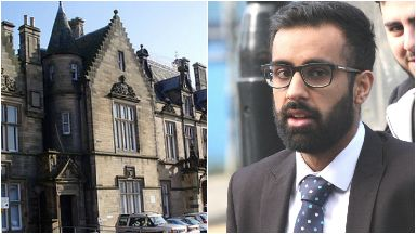 Wajhat Akhtar, 22, caught doing 120mph on the M9. He is a KPMG lawyer. Also Stirling Sheriff Court.