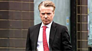 Craig Whyte arrives at High Court in Glasgow for first day of Rangers fraud trial
