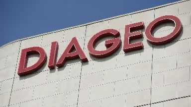 Diageo sign GV
