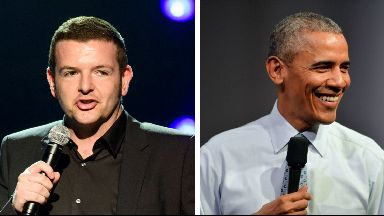 Kevin Bridges and Barack Obama