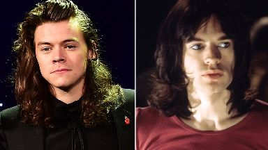 One Direction star Harry Styles hints he might be playing Sir Mick Jagger in biopic