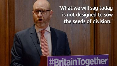 Ukip's Nuttall says burka ban and FGM prosecutions will promote 'integration'