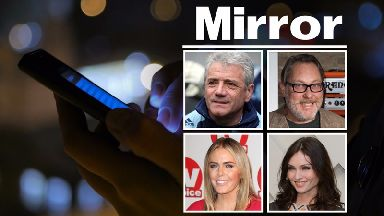 Host of celebrities settle phone-hacking claims against Mirror Group Newspapers