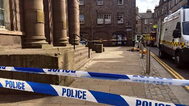 Angus Council municipal buildings cordoned off after delivery of suspicious package in Forfar