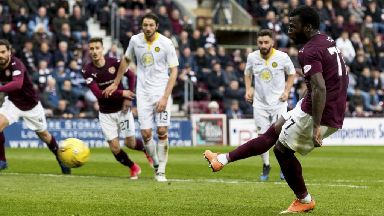 Scottish Premiership highlights: Hearts 2-2 Partick Thistle