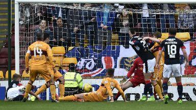 Scottish Premiership highlights: Motherwell 2-3 Dundee