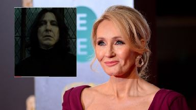 JK Rowling apologises for killing off Professor Snape ahead of 'Battle of Hogwarts' anniversary