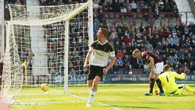 Scottish Premiership highlights: Hearts 1-2 Aberdeen