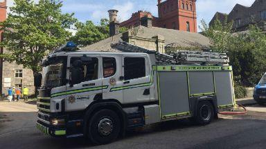 Fire at Aberdeen Bradford works factory