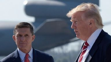 Trump 'tried to end investigation into Michael Flynn'