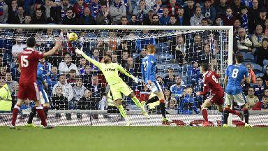 Rangers 1-2 Aberdeen