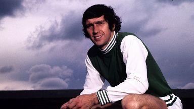 Eric Stevenson, former Hibs player.