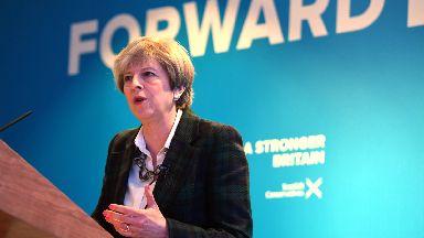 Theresa May speech in Edinburgh at launch of Scottish Tory manifesto
