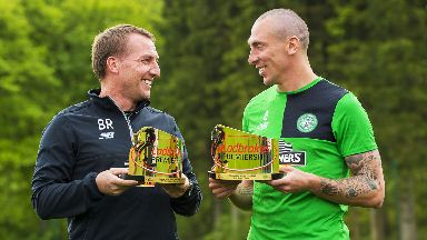 Winners: Brown and Rodgers received awards.