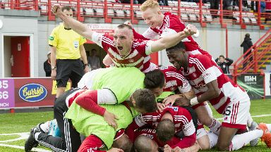 Accies play offs