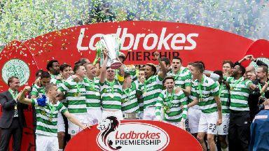 Celtic's title-winning celebrations 2016/17