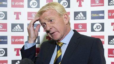 Gordon Strachan on squad selection