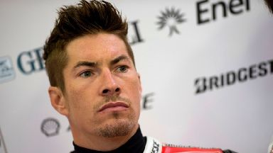 Superbike racer Nicky Hayden, 35, dies following bicycle training collision