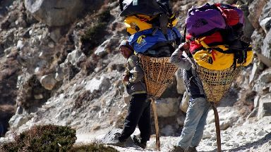 Sherpas 'biologically adapted' to cope in mountains over thousands of years