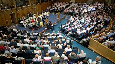 The General Assembly of the Church of Scotland in Edinburgh Uploaded Thursday May 25 2017