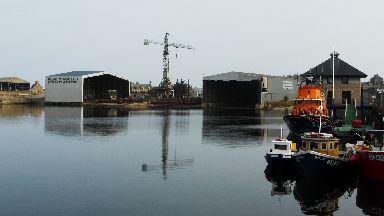 Buckie Shipyard stock/generic image
