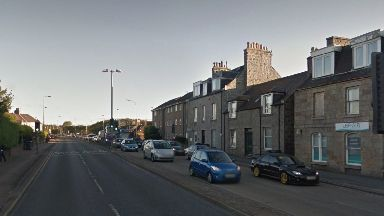 Collision: The incident happened on Ellon Road, Aberdeen.